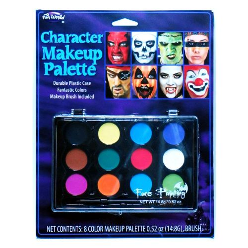 12 Colour Makeup Pallette for Fancy Dress